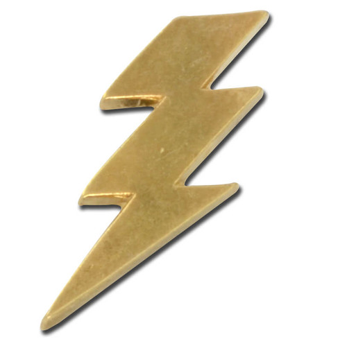 Lightning Bolt Lapel Pin