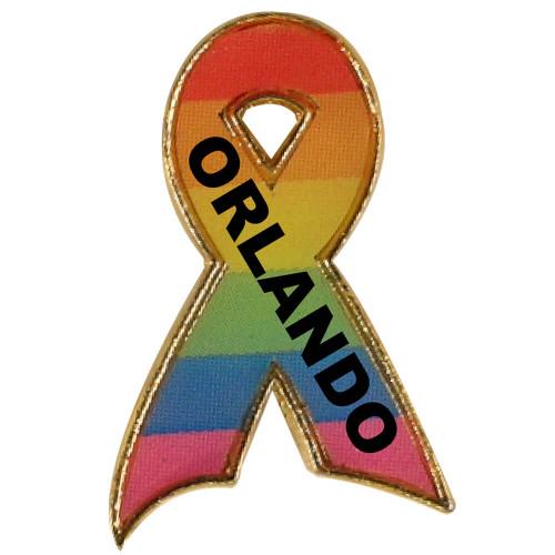 Orlando Support Ribbon Pin