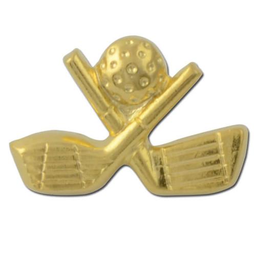 Cross Clubs 1 Lapel Pin