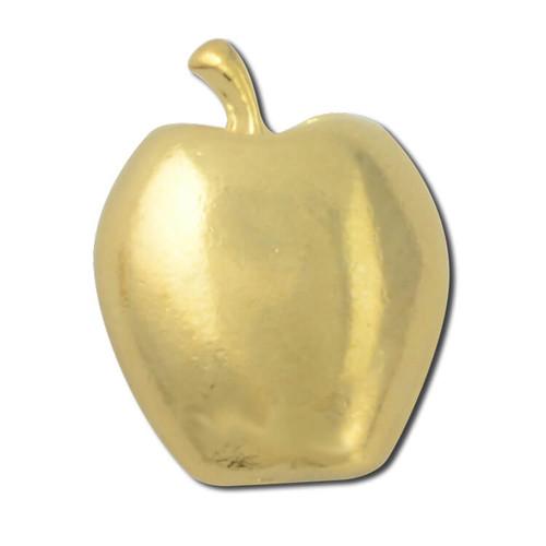 Golden Apple Lapel Pin