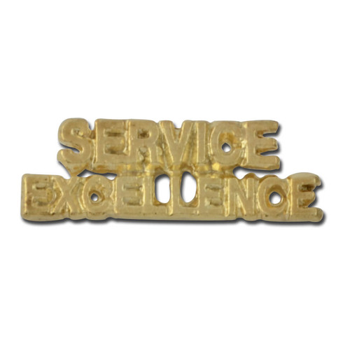 Service Excellence Lapel Pin