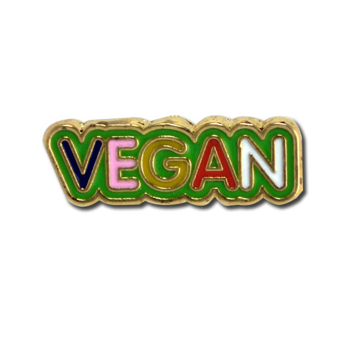 Vegan Lapel Pin