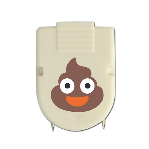 Poo cubicle clip - one of 5 in the set