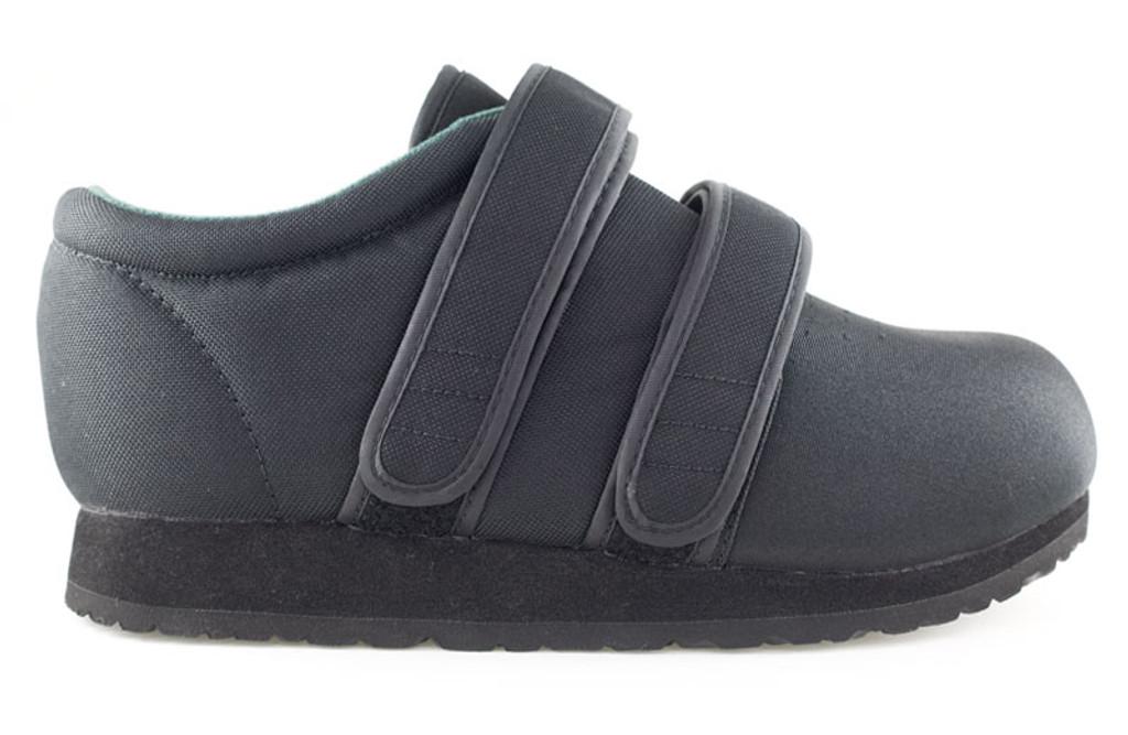 Clásico Max Negro Max Profile Zapatos Diabética Y Ortopédicos