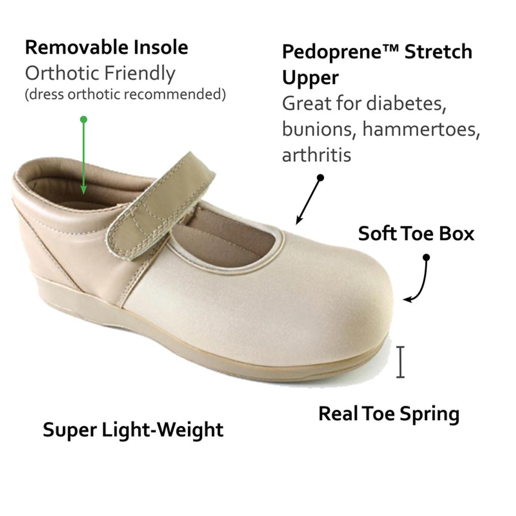 Pedors 501 Diabética Zapatos Diabética Y Ortopédicos