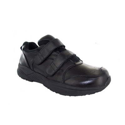 Genext Athletic Black Touch Closure GAV10M Mens Orthopedic Shoes