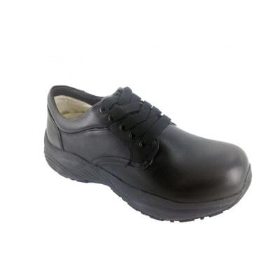 Genext Comfort Black Lace-Up GCL10M Mens Orthopedic Shoes