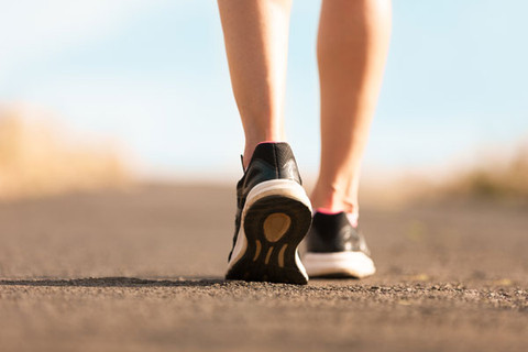 The Health Benefits Of Walking.  Let's Walk!