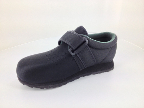 Pedors Clásico Negro Zapatos Diabética Y Ortopédicos