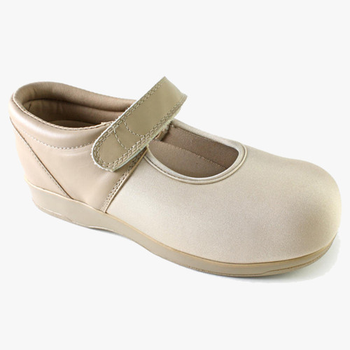 Pedors Mary Jane Estire Diabética Zapatos Ortopédicos