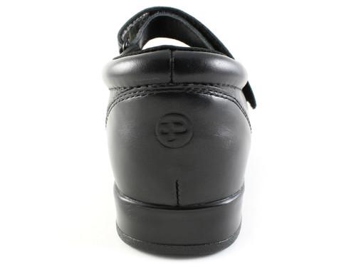 Pedors 500 Black Mary Jane Heel Zapatos Diabética Y Ortopédicos