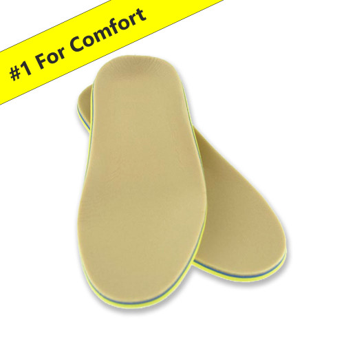 Pedors 3P Comfort Insoles / Diabetic Inserts (Pack Of Three Pairs)