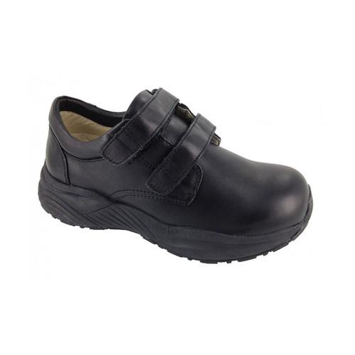Genext Comfort Black Touch Closure GCV10M Mens Orthopedic Shoes