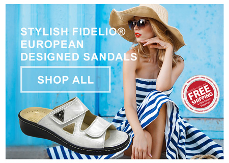 Visit FidelioSandals.com for High Quality Bunion Sandals