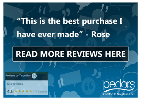 Read all the wonderful reviews on Pedors.com