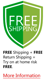 Pedors.com offers free shipping and free return shipping to USA customers