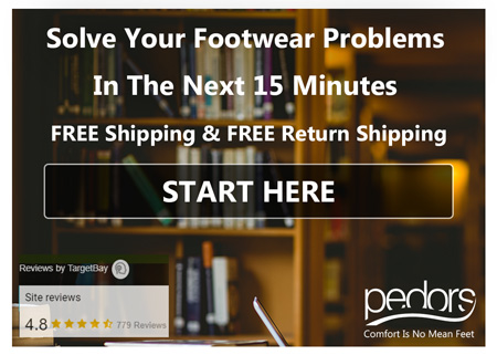 Solve Your Footwear Problems In The Next 15 Minutes On Pedors.com