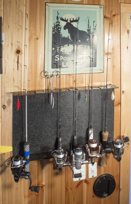 Ice Rod Rack Fishing Rod Holder Ice House Supplies