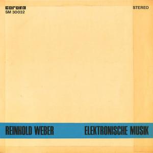 REINHOLD WEBER Elektronische Musik CD-R