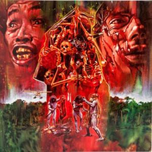 RIZ ORTOLANI Cannibal Holocaust (UK Version) VALENTINE'S DAY RED LP
