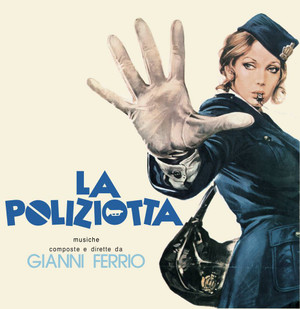 GIANNI FERRIO La Poliziotta Original Motion Picture Soundtrack LP