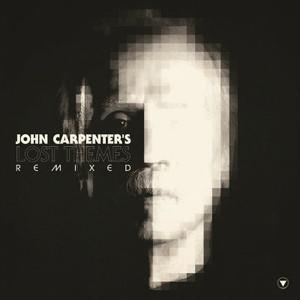 JOHN CARPENTER Lost Themes Remixed (Red & Clear Swirl Vinyl) LP