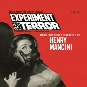 HENRY MANCINI Experiment in Terror (Original Motion Picture Soundtrack) LP