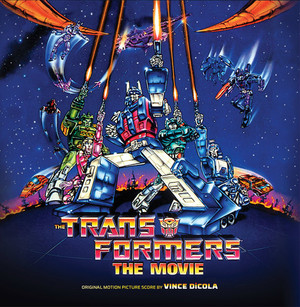 VINCE DICOLA The Transformers: The Movie LP