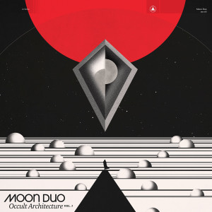 MOON DUO: Occult Architecture Vol. 1 (Black & Red Marble Vinyl) LP