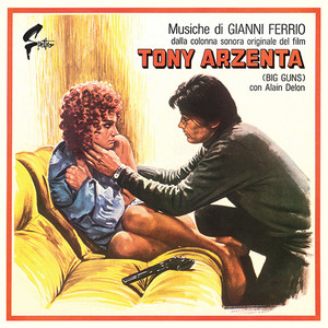 GIANNI FERRIO: Tony Arzenta (Big Guns) LP+POSTER