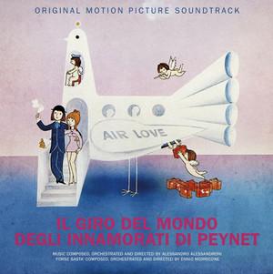 ENNIO MORRICONE: Il Giro Del Mondo Innamorati Di Peynet LP