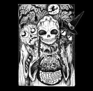 V/A: Witches' Halloween Brew (Neon Blood Red) Cassette