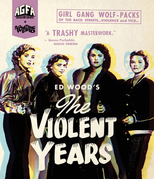 The Violent Years Blu-Ray