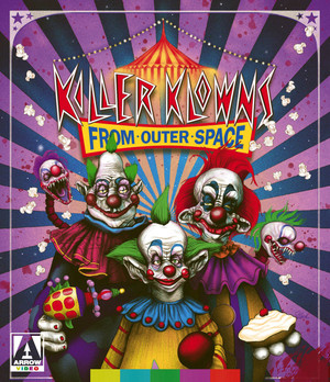 Killer Klowns From Outer Space Blu-Ray