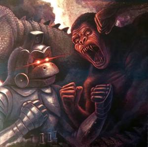 """AKIRA IFUKUBE: King Kong Escapes 12"""" LIMITED EDITION BROWN VINYL"""