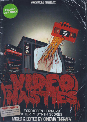 VIDEO NASTIES: Forbidden Horrors & Dirty Synth Scores BLU-RAY
