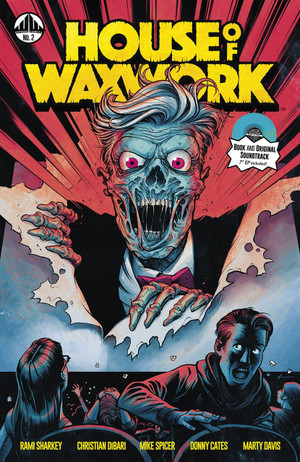 HOUSE OF WAXWORK ISSUE 2 TIME CAPSULE