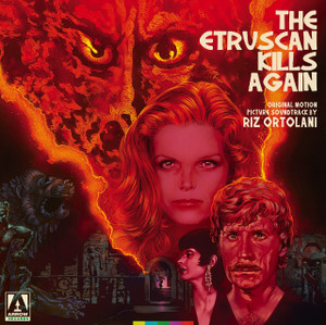 RIZ ORTOLANI: Etruscan Kills Again, The: Original Motion Picture Soundtrack (Red And Black Splatter) LP