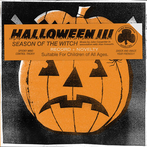 JOHN CARPENTER & ALAN HOWARTH: Halloween III: Season Of The Witch LP REPRESS