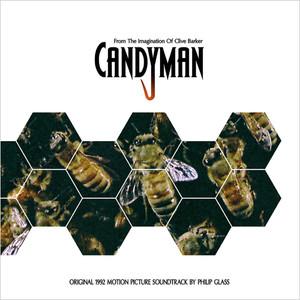 PHILLIP GLASS Candyman (Original 1992 Motion Picture Soundtrack) (Yellow/Black Swirl) LP