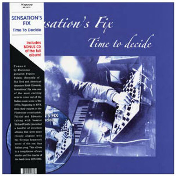 SENSATIONS' FIX Time to Decide LP+CD