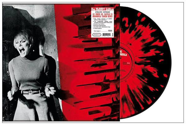 STELVIO CIPRIANI Gli Orrori del Castello di Norimberga (Baron Blood) (Bloody Red Speckles Vinyl) 2LP