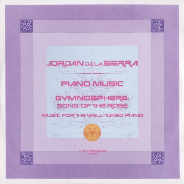 JORDAN DE LA SIERRA Gymnosphere: Song Of The Rose 2LP