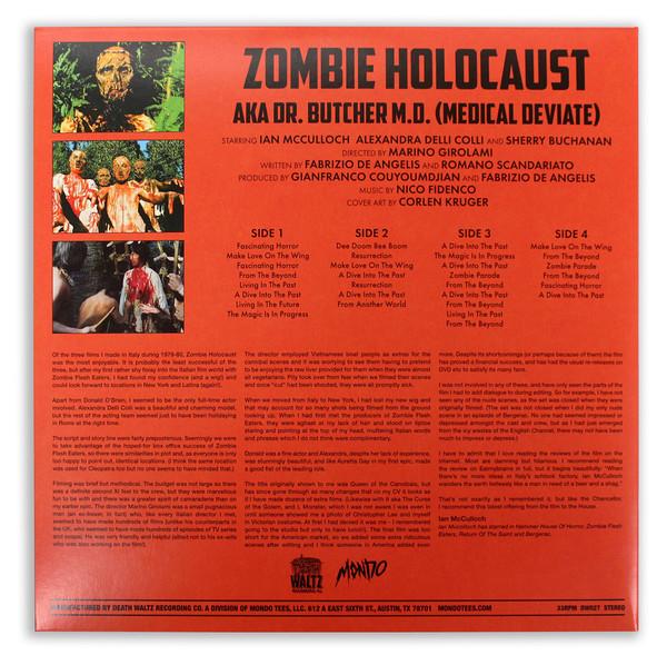 NICO FIDENCO Zombie Holocaust 2LP