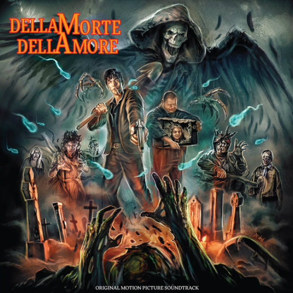 MANUEL DE SICA Dellamorte Dellamore (Original Motion Picture Soundtrack) CS