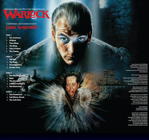 JERRY GOLDSMITH Warlock (Original Motion Picture Soundtrack) 2LP