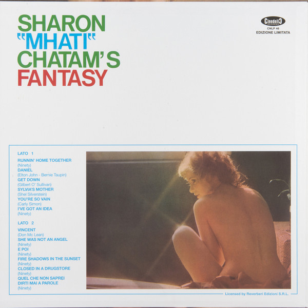 SHARON MHATI CHATAM (REVERBERI): Fantasy LP