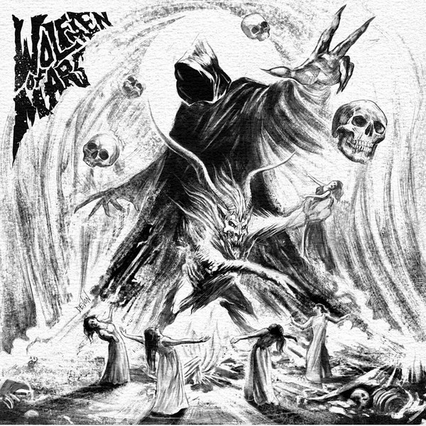 WOLFMEN OF MARS:The Witch, The Goat & The Malevolent Spirit (Grey Vinyl) LP
