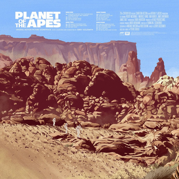 JERRY GOLDSMITH: Planet Of The Apes LP
