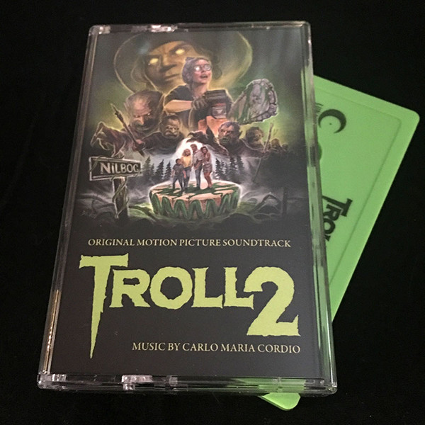 CARDIO MARIA CORDIO: Troll 2 (1990 Original Soundtrack) Cassette
